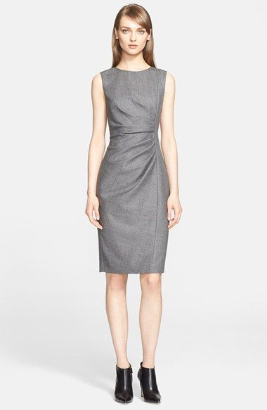Max Mara 'Terry' Wool Blend Sheath Dress (Nordstrom Exclusive) available at #Nordstrom
