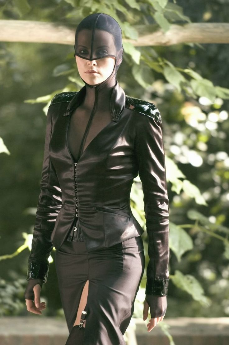 Charlize Theron in Thierry Mugler, as AEon Flux (2005).