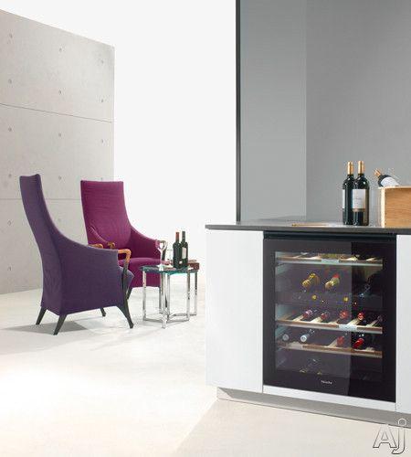 Miele wine fridge and cabinet