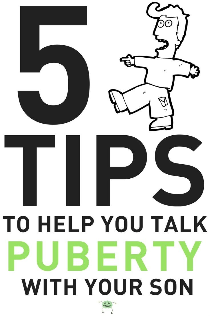 talking about puberty with your tween boys