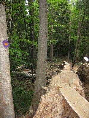 Yes this is a Mountian Bike Trail - Kingdom Trails NEK