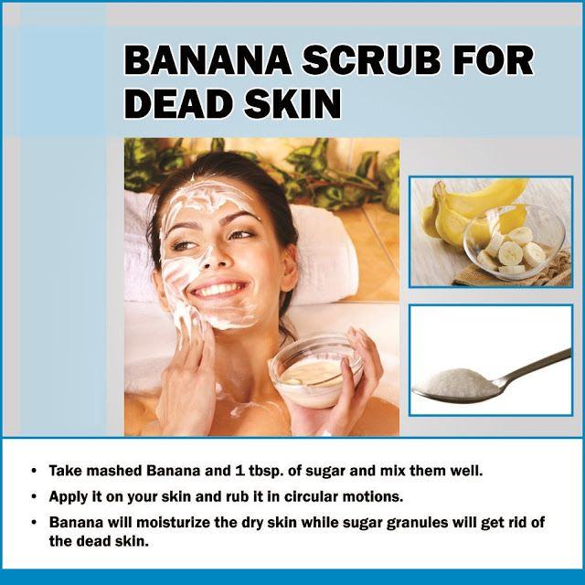 how to use banana for hair and skin