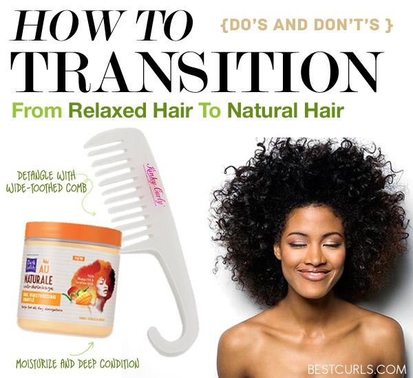 How To Transition From Relaxed Hair To Natural Hair http://www.shorthaircutsforblackwomen.com/how-to-transition-from-relaxed-to-natural-hair/