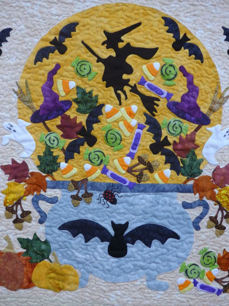 Halloween Quilts at the Quiltfest of New Jersey