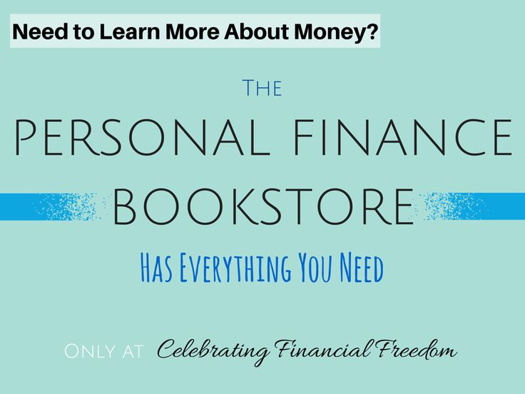 It's important to know as much as you can about money and personal finance.    That's why I put together this collection of awesome resources!    Learn about Investing, getting out of debt, relationships, business, and much more with the Celebrating Financial Freedom Bookstore!  #books #bookstore #finance #money  http://www.cfinancialfreedom.com/bookstore