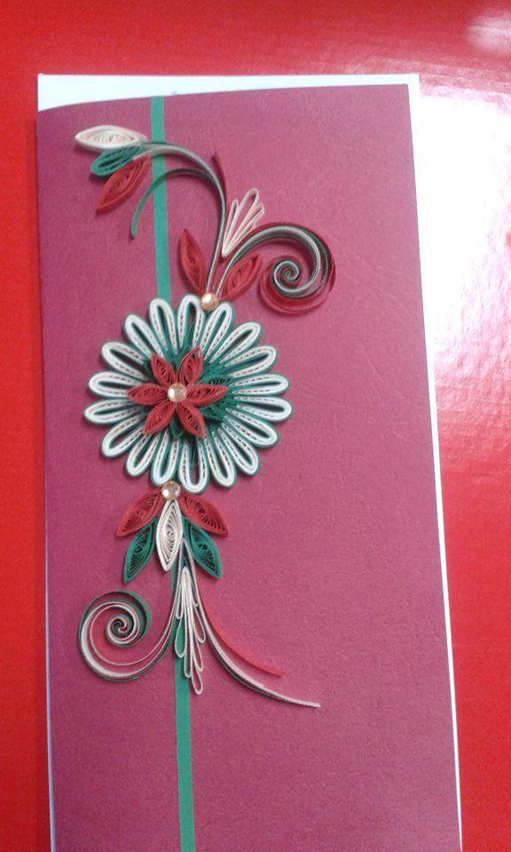Card - Quilling Design Antonia