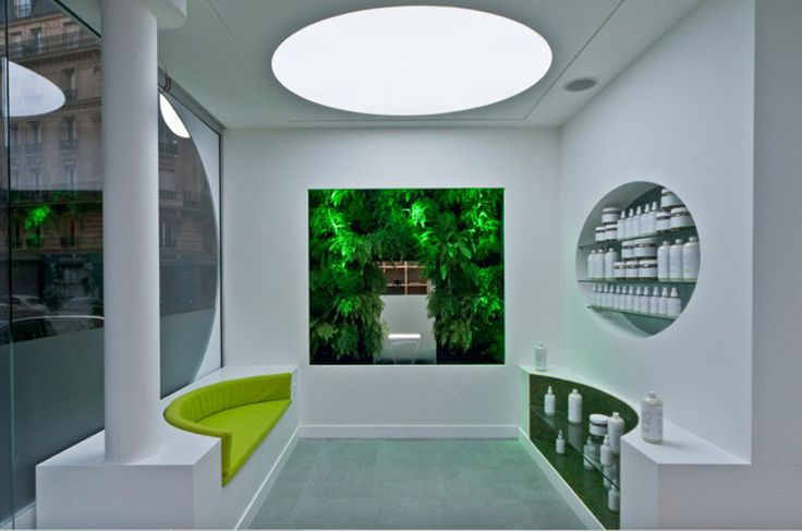 Mur végétal design - H2O PRESSING