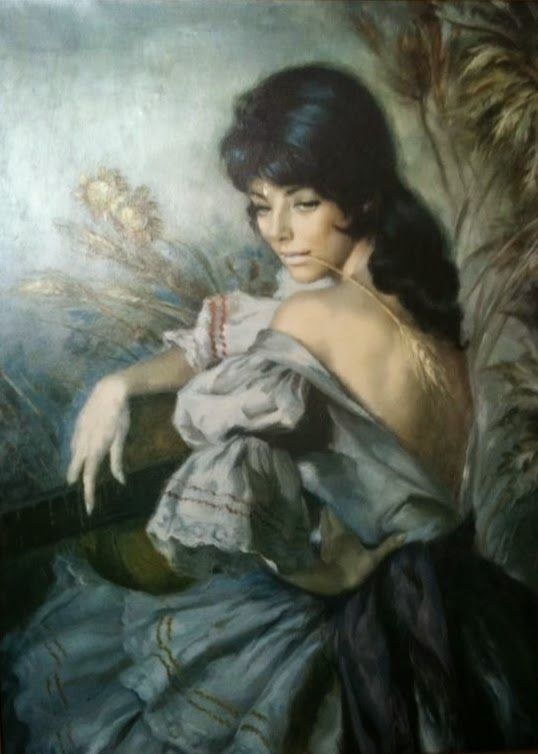 Romantic Figurative painter