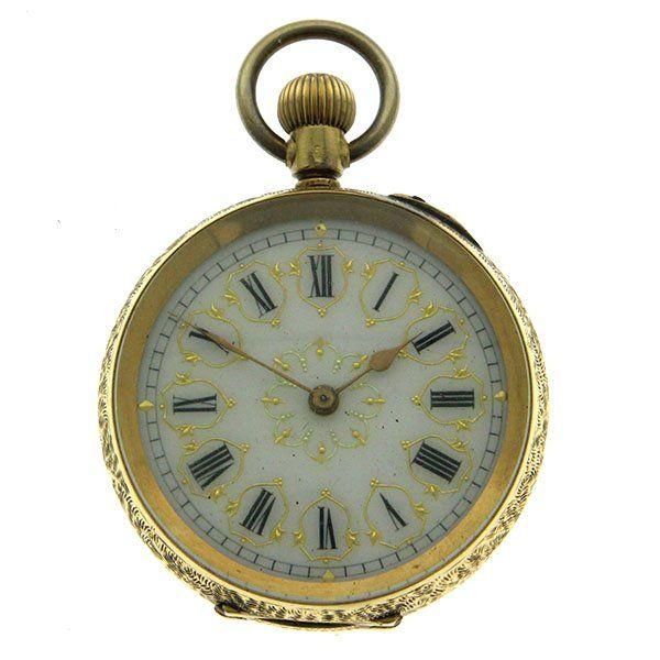 14k Pocket Watch | eBay