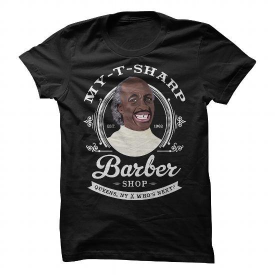 Awesome Tee MY T SHARP BARBER SHOP Shirts & Tees