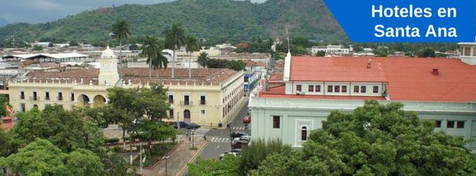 Listado de hoteles en Santa Ana, El Salvador. Hoteles, hostales y alojamiento en Santa Ana. Negocios o turismo.