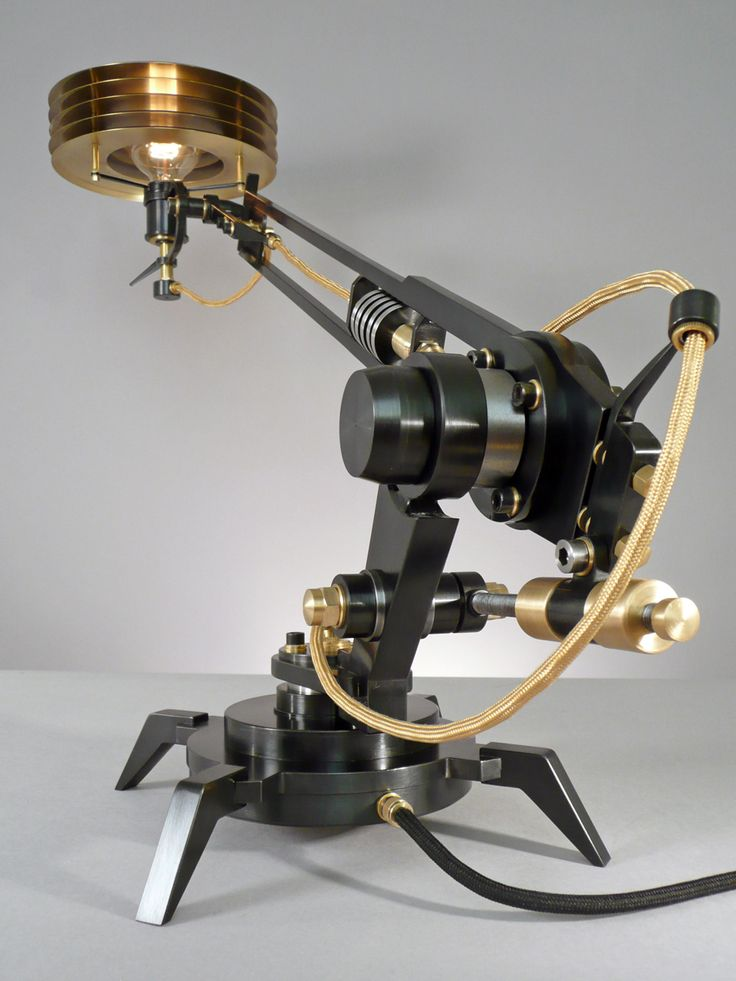 Beautiful FRANK BUCHWALD MACHINE LIGHTS Exclusive design of lamps and light objects