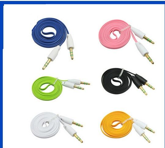 IM 3FT 3.5mm Car Audio Cable Colorful Audio Aux Cable for Mobile Phone Speaker MP3