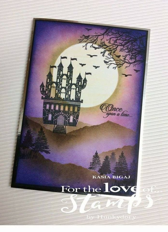 For the love of stamps by hunkydory. Twilight kingdom collection