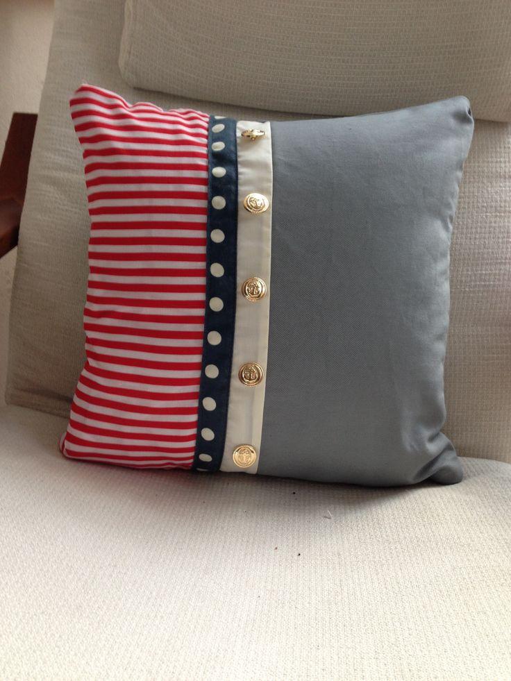 Nautical Cushion. Cushion IdeasNautical CushionsPillow TalkSewing ... & 108 best Sewing: Pillows \u0026 cushions patterns \u0026 ideas images on ... pillowsntoast.com