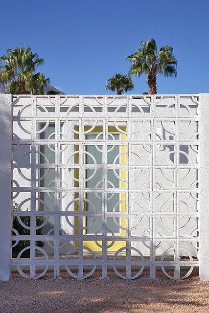 Perforated screen wall