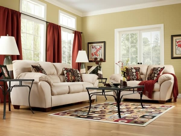 34 best living rooms images on pinterest beautiful sofas for Neutral palette living room