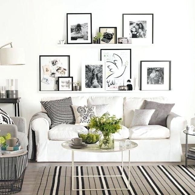 Pin By Paula Cryer On Condo Ikea Living Room Shelves Above