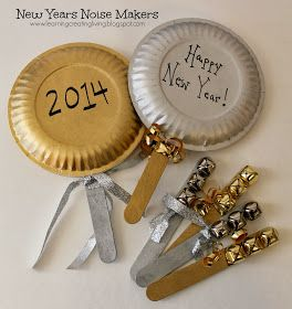 New Years Noise Makers | Crafts & DIY | Pinterest | New Year's