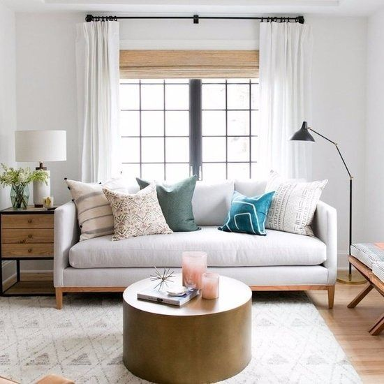 Ugly window treatments are the thorn in almost every renter's rear. Plastic mini blinds — or worse, vertical blinds — are automatic aesthetic killers, but they can be remedied for a shockingly small