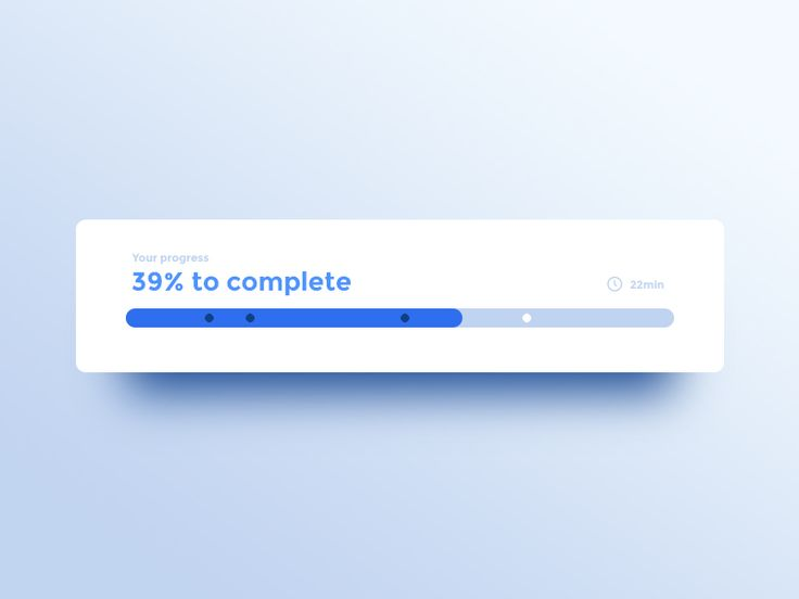 086 DailyUI  Progress Bar by Adrien Gervaix #Design Popular #Dribbble #shots