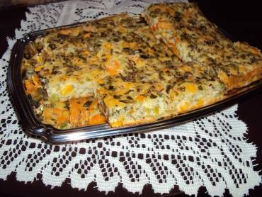 Receita de Torta de legumes - Tudo Gostoso
