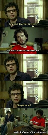 Flight of the conchords!