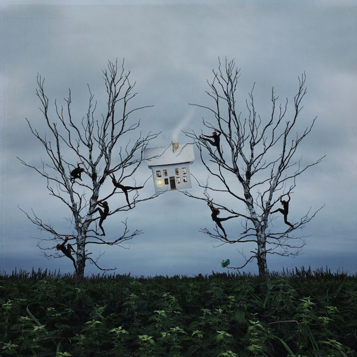 New in My Modern Shop: Surreal Portraits Inspired by Ballet by Kylli Sparre - My Modern Met