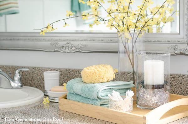 Coastal Bathroom Decor Farmhouse: 25+ Best Ideas About Cottage Bathroom Decor On Pinterest