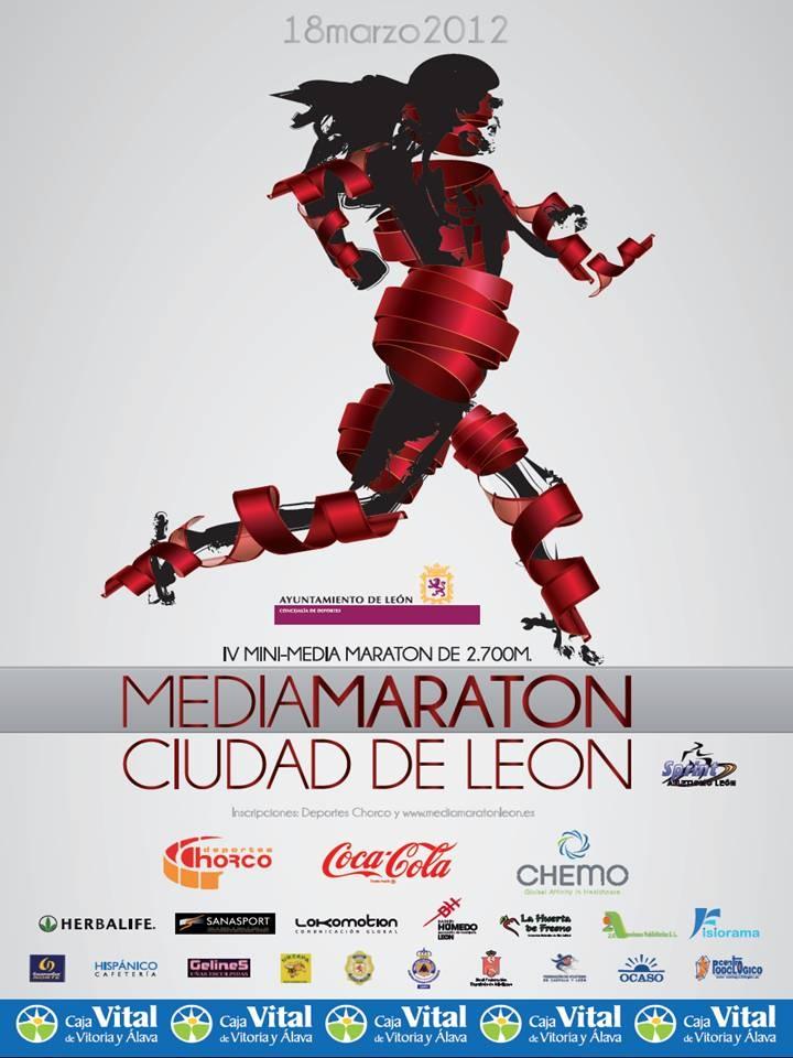 Otro año más 2A Promociones Publicitarias colabora con el Ayuntamiento de León a través del patrocinio en la IV Edición de la Media Maratón CIUDAD de LEÓN que se celebrará el próximo 18 de Marzo a la que invitamos a todos a asistir.