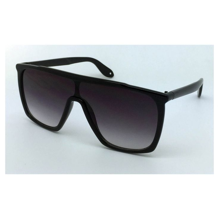 Women's Oversized Sunglasses - Black