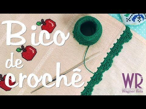 3 Modelos de Bicos de Crochê [Passo a Passo] | Revista Artesanato