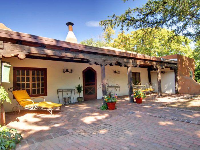 263 best images about adobe houses on pinterest adobe for Santa fe adobe homes