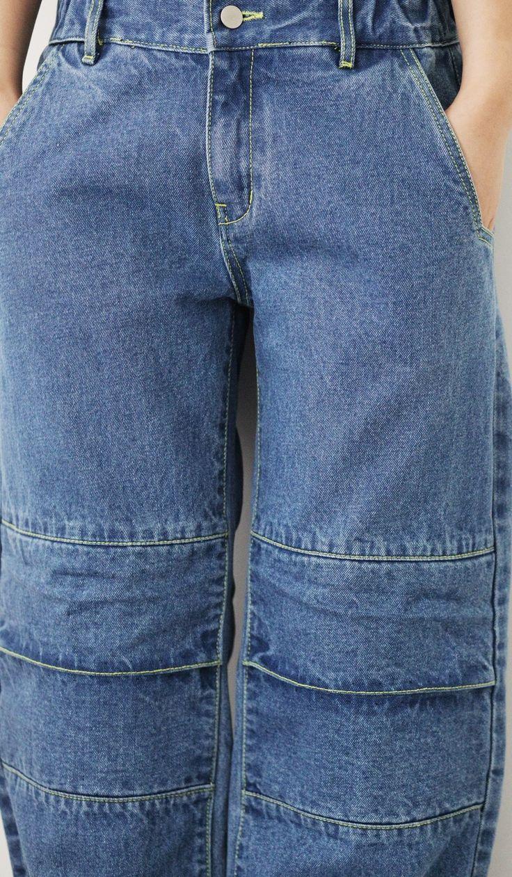 Denim pants  Line  'But near missed things'  www.adererror.com