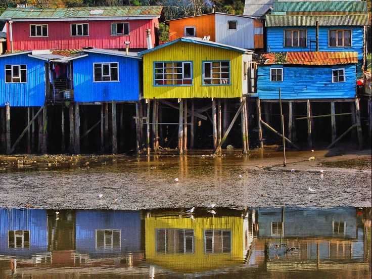 Palafitos Chiloe. I can't wait to get there with my camera