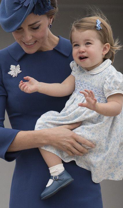 Książęca para w oficjalną podróż do Kanady zabrała ze sobą dzieci - Dziecko