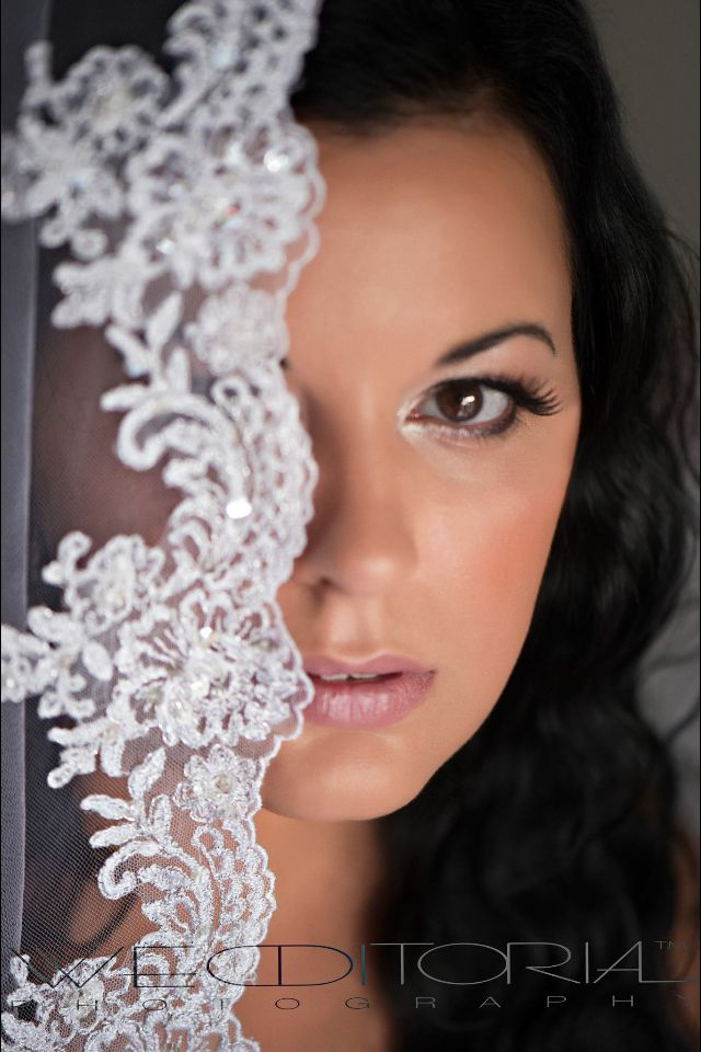 Beautiful bridal photograph