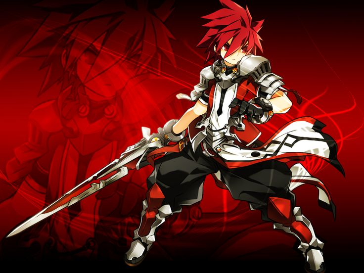 Elsword: Lord Knight by Ikrius on deviantART
