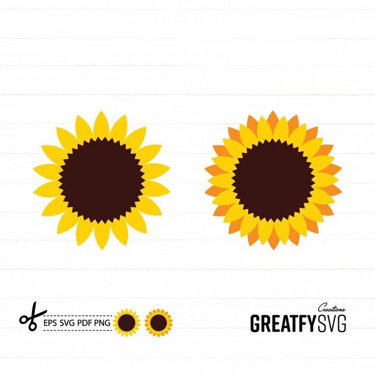 Download Sunflower Clipart. Sunflower Svg. Vector Sunflower. Design ...