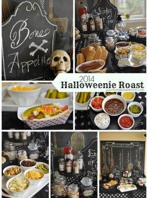 Halloweenie Roast 2014 – Hot Dog Bar