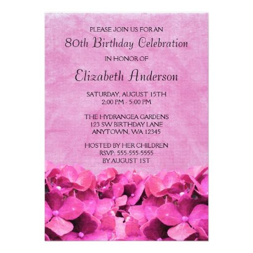 15 best 90Th Birthday Invitation Template images on Pinterest 90th - fresh birthday party invitation message to friends