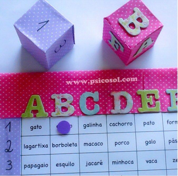 ALFABETIZAÇÃO CEFAPRO DE PONTES E LACERDA : Jogos para Alfabetização