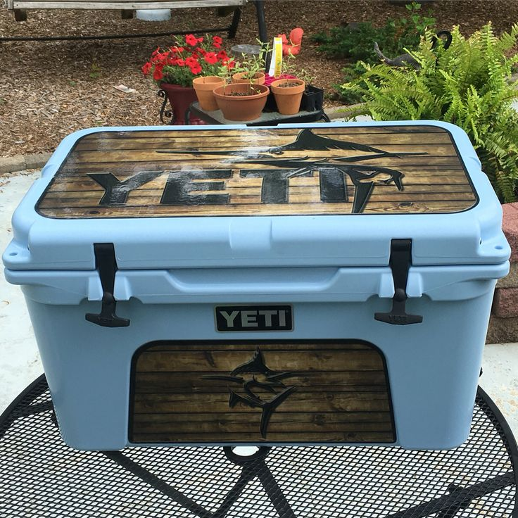 Yeti coolers do have some attractive wrap graphics.