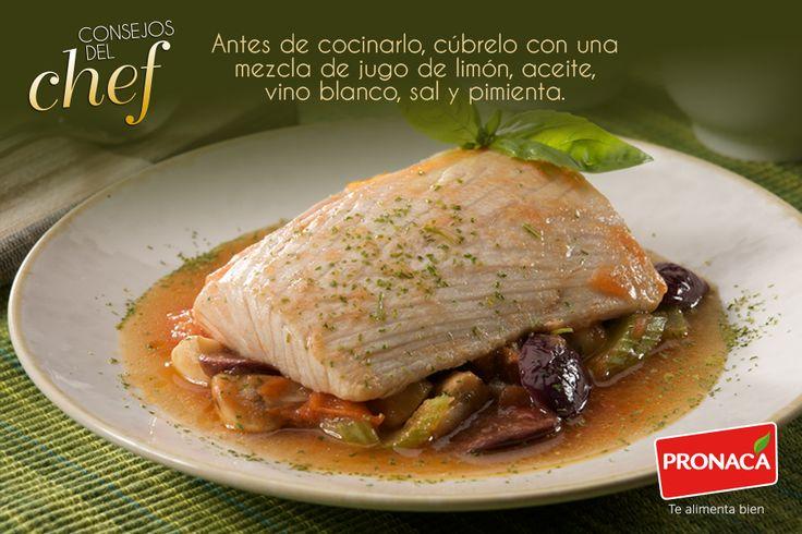 Si quieres suavizar el sabor del pescado, sigue el consejo de nuestro Chef y haz que quede mucho más rico.