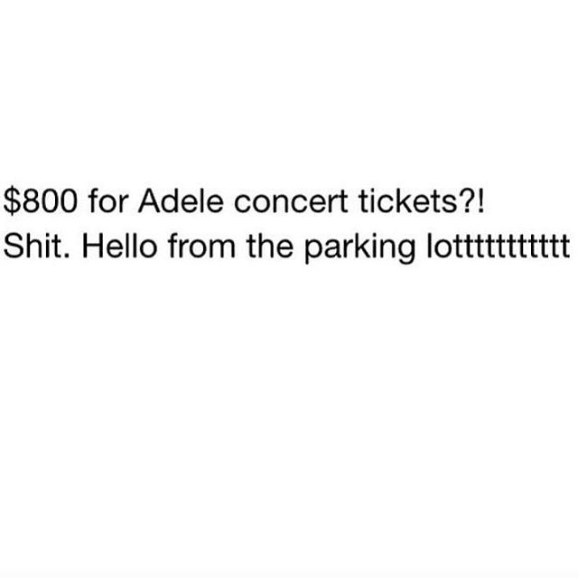 Uggh she is sold out and the re-sale ticket prices really should be illegal. FV is $ 85....3rd row center stage :/