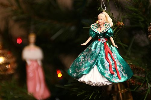 Barbie ornaments every year @Rachel LorenzHallmark Ornaments, Barbie Hallmark, Barbie Girls, Childhood Memories, Christmas Collection, Barbie Ornaments, Christmas Ornaments, Christmas Trees, Barbie Christmas