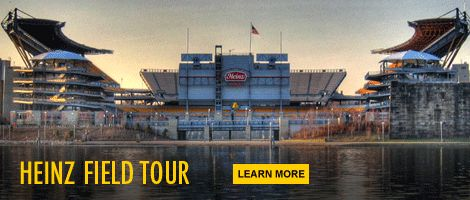 Heinz Field is home to the Pittsburgh Steelers NFL team and the University of Pittsburgh Panthers football teams