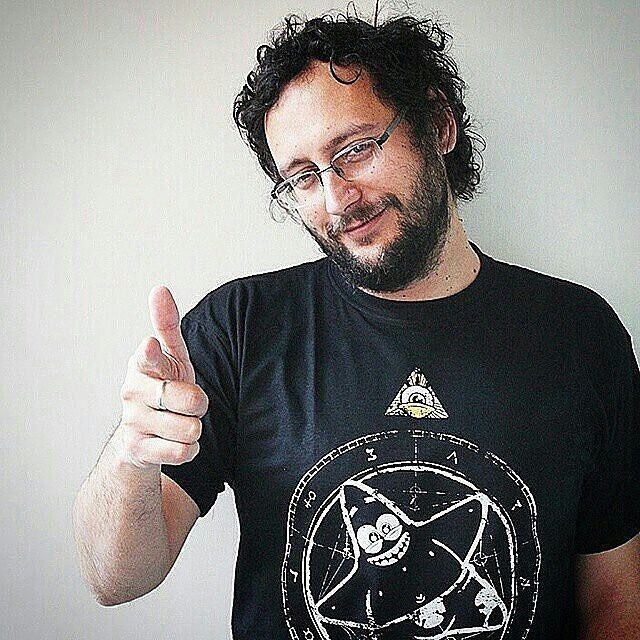 Real people real t-shirts!  Mladen Urdarevic radio host from Dasko & Mladja online radio showing off his Rags t-shirt! (Link in bio)  #tshirt #fashion #tee #clothing #shirt #design #streetwear #clothes #tshirts #squarepants #spongebob #spongebobsquarepants #patrick #patrickstar #star #cartoon #funny #bob #cute #spongebobmemes #spongbob #cartoons #pentagram #satan #666 #witch #wicca #goth #pagan #satanic