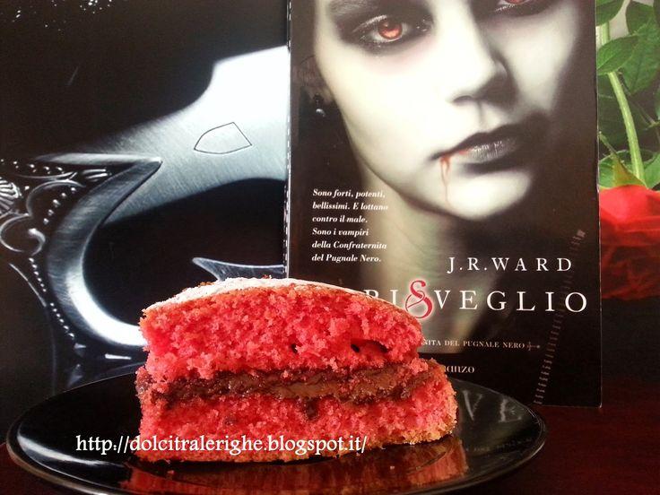 Dolci tra le righe: Il risveglio/Dark Lover, Un amore proibito di J.R. Ward con Torta pescosa. http://dolcitralerighe.blogspot.it/2014/11/il-risvegliodark-lover-un-amore.html