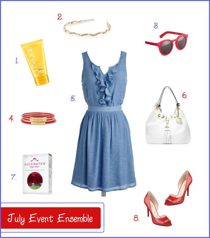 July Event Wardrobe Picks - style for a mix of fashion and comfort in the Summer heat